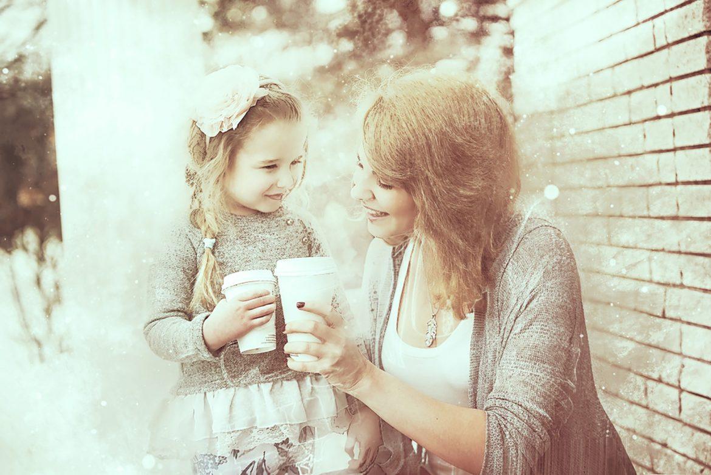 Copilul vrea să ştie tot ce este în sufletul mamei